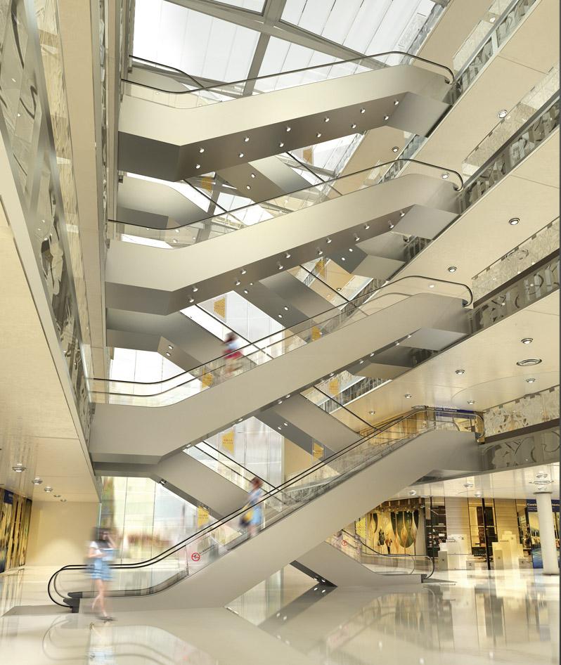K型自动扶梯